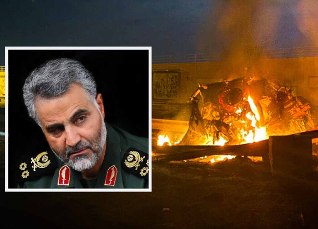 US assassinating Qassem Suleimani who was an Iranian major